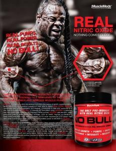 Anuncio NO Bull de Musclemeds con Kai Greene