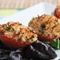 Tomates asados con parmesano