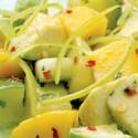Ensalada tropical de pepino