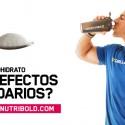 Los efectos secundarios de la creatina